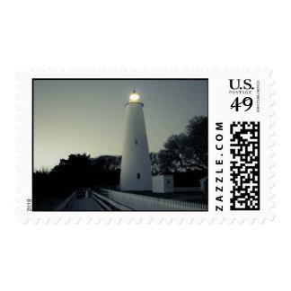 Ocracoke Light. Postage Stamp
