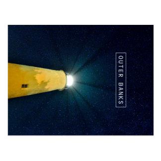 Ocracoke Light. Postcard