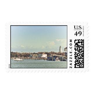 Ocracoke Light. Stamp