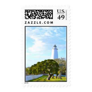 Ocracoke Light. Stamps