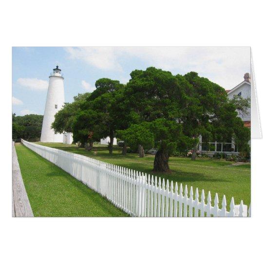 Ocracoke Lighthouse Card