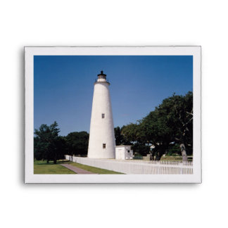 Ocracoke Lighthouse Envelope
