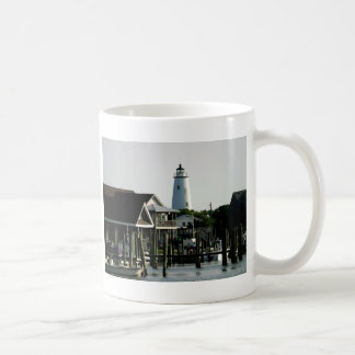 Ocracoke Lighthouse from the Harbour Coffee Mug