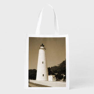 Ocracoke Lighthouse Grocery Bag