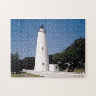 Ocracoke Lighthouse Jigsaw Puzzle