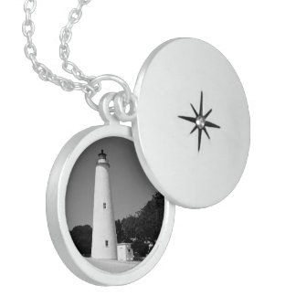 Ocracoke Lighthouse Locket Necklace