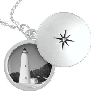Ocracoke Lighthouse Locket Necklace