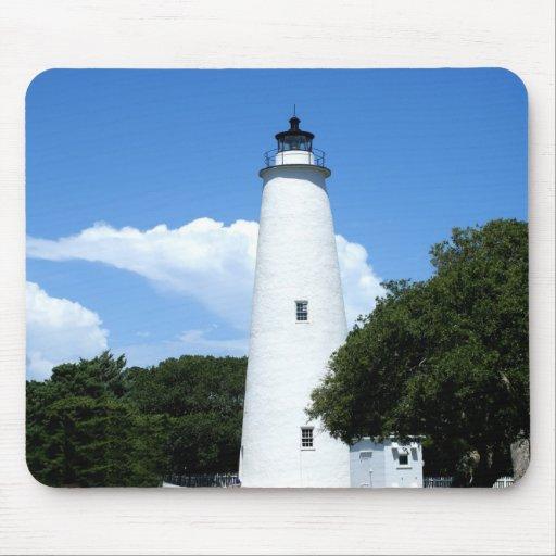Ocracoke Lighthouse Mouse Pad