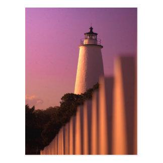 Ocracoke Lighthouse Post Card