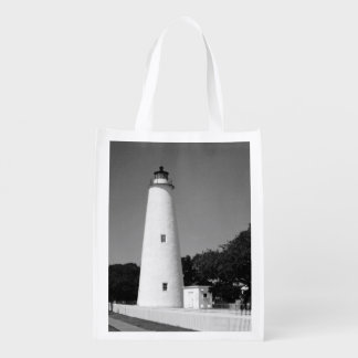 Ocracoke Lighthouse Reusable Grocery Bag