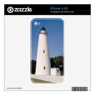 Ocracoke Lighthouse Skin For The iPhone 4