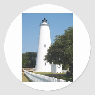 Ocracoke, NC Round Stickers