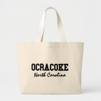 Ocracoke North Carolina Jumbo Tote Bag