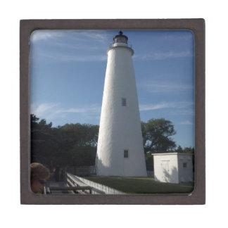Ocracoke North Carolina Lighthouse Jewelry Box