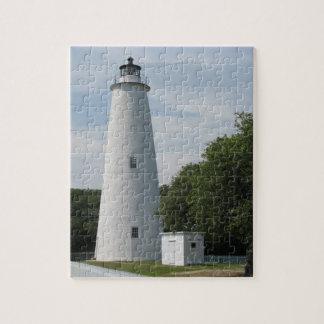 Ocracoke, North Carolina Lighthouse Puzzle