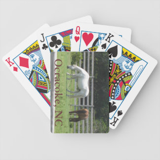 Ocracoke playing cards