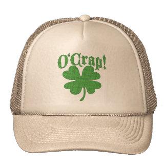O'Crap Oh Crape Trucker Hats