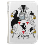 O'Crean Family Crest Cases For The Kindle