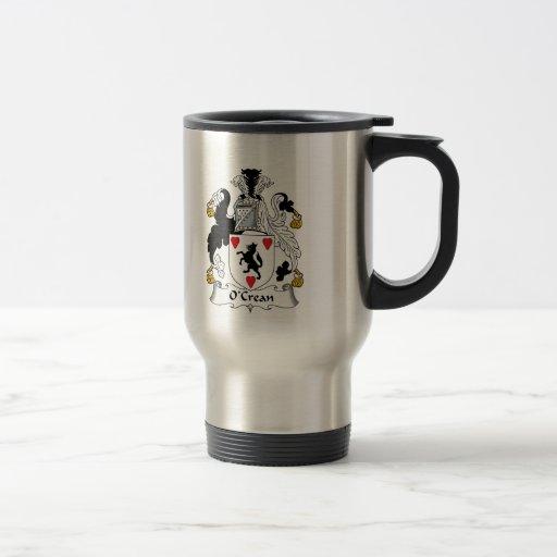 O'Crean Family Crest Coffee Mug