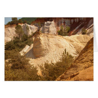 Ocres du Roussillon Greeting Cards