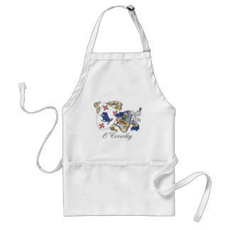 O'Crowley Family Crest Apron