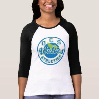 OCS Wolves Athletics Women's Raglan T-Shirt
