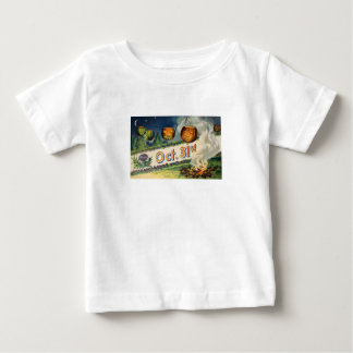 Oct 31st (Vintage Halloween Card) Baby T-Shirt