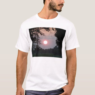 Oct. Sunset Framed By Trees T-Shirt