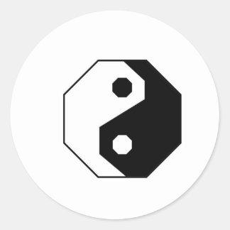 Octa Ying Round Sticker