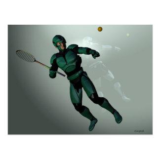 Octagla Player Rundell Science Fiction Postcard
