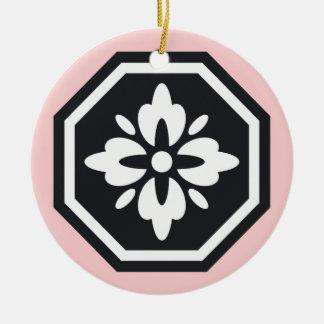 Octagon Nihon ornament