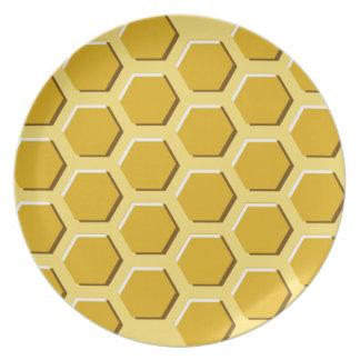 Octagon plate
