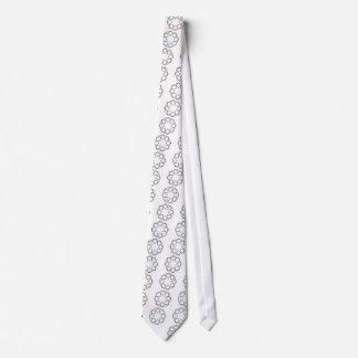 Octagon Square Tie