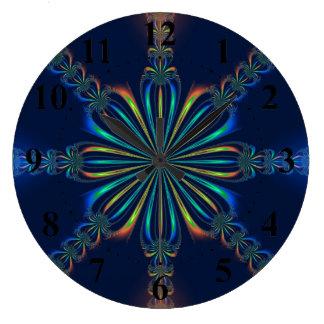 Octagonal Bow Wall Clock