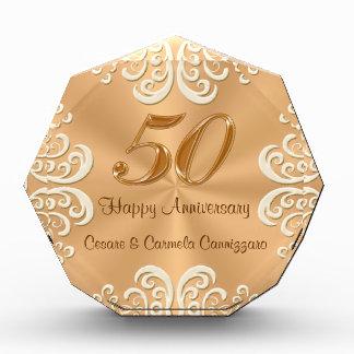 Octágono del aniversario del pedido especial 50.o