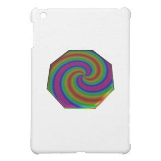 Octágono remolinado del arco iris