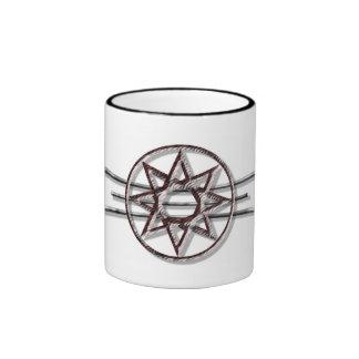 Octagram Drinkware Ringer Mug