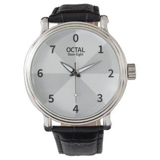 Octal Clock Base Eight Wristwatch