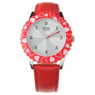 Octal Clock Base Eight Wristwatches