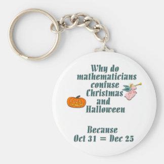 Octal or Decimal Keychain