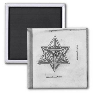 Octangula de Stella, de 'De Divina Proportione' Imán Cuadrado