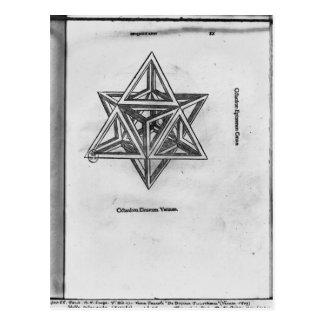 Octangula de Stella, de 'De Divina Proportione' Postales