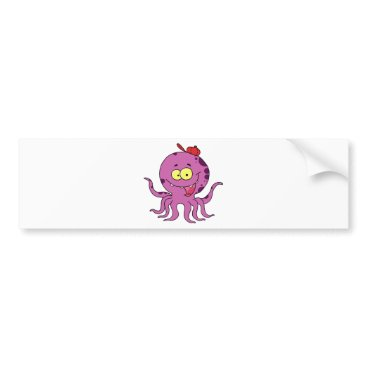 Professional Business Octave the Octopus Bumper Sticker