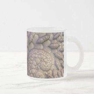 Octaves Frosted Glass Coffee Mug