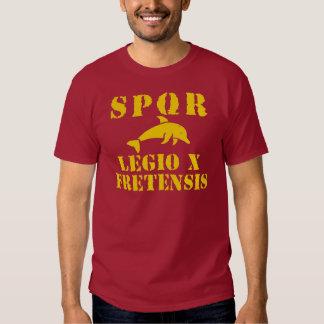 Octavian/Augustus' 10th Fretensis Legion (Dolphin) T Shirts
