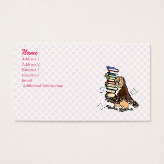 Octavian Owl Business Card