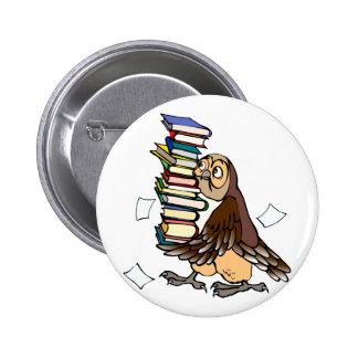 Octavian Owl Button