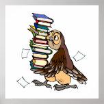Octavian Owl Poster