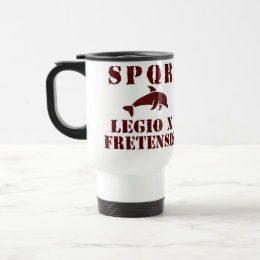 Octavian's 10th Fretensis Roman Legion Dolphin Mug