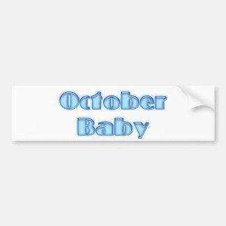 OctBaby Bumper Sticker